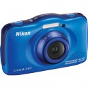 Nikon Coolpix S32 13.2MP Waterproof Digital Camera