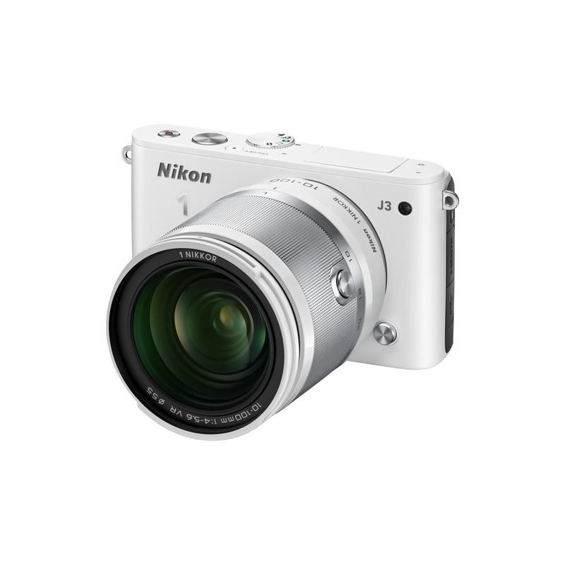 Nikon 1 J1 mirrorless camera with 18.5 and 30-110 lenses ...