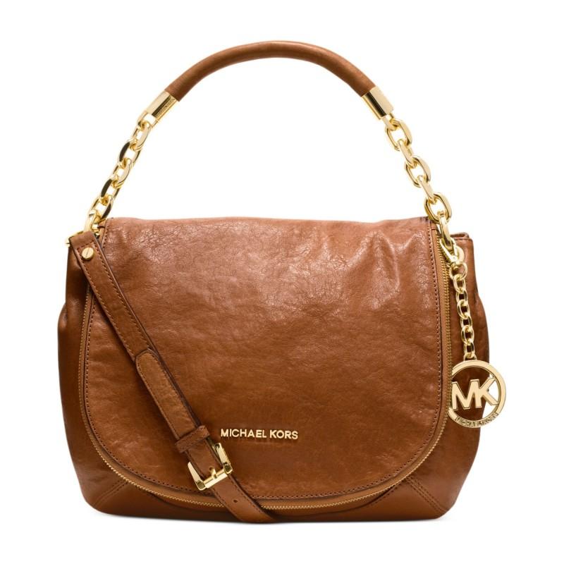 Michael Michael Kors Fulton Medium Shoulder Bag Brown 82