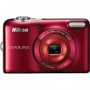 Nikon Coolpix L30 20.1 MP 5x Opt. Zoom Digital Camera - Red