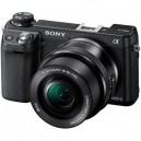 Sony Alpha NEX-6 Mirrorless Digital Camera with 16-50mm Zoom Lens, Black